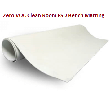 Clean Room Compatible ESD Bench Matting  #CR3040-XF