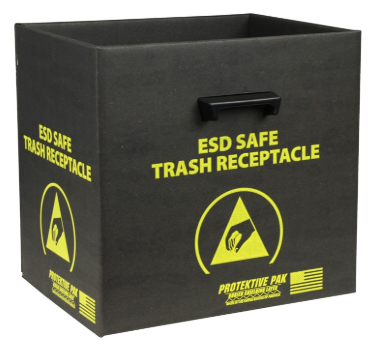 ESD Safe Trash Receptacle #37810-XF