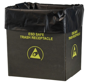 ESD Trash Receptacle Liners (Pack of 50) #37820-XF
